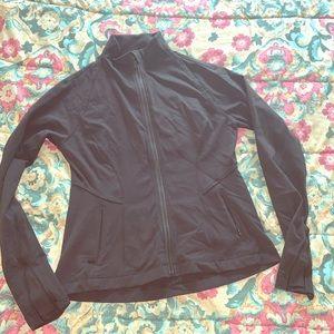💕Lululemon blk full zip Large jacket